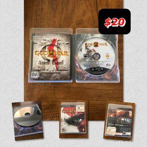 God of War III PS3 for Sale in Phoenix, AZ