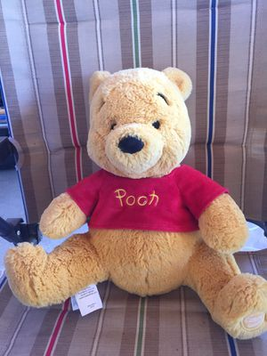Disney Winnie the pooh stuffed animal toy authentic for Sale in Redlands, CA