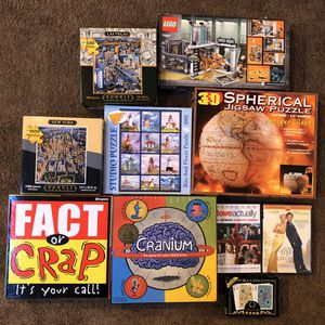 Legos, board games, puzzles, DVDs for Sale in Issaquah, WA