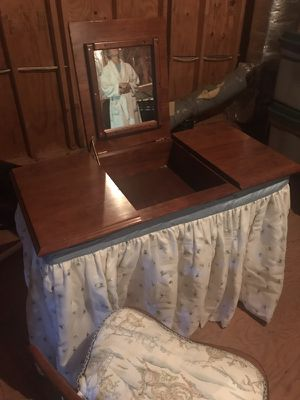 Dressing table with chair for Sale in McLean, VA