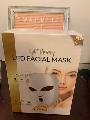 Asabea, Light Therapy Mask for Acne, Wrinkles, Rosacea, Face-LED. for Sale in Whittier, CA