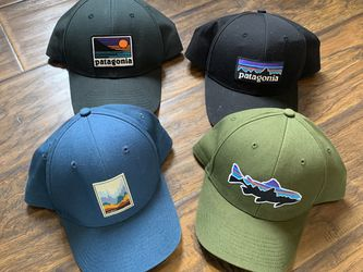 Lot Of 4 Patagonia Men's SnapBack Hat - Vintage And New Models Logo Design for Sale in Los Angeles,  CA