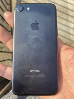 iPhone 7 Real screen is not cracked only the protective screen for Sale in Los Angeles, CA