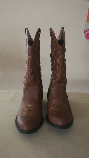 Girls cowboy boots for Sale in Richmond, TX