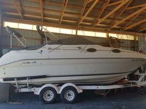 95 250 Sea Ray boat and shorelander trailer for Sale in Carleton, MI