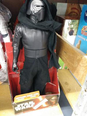 "Star Wars: The Last Jedi Kylo Ren Action Figure 18"" for Sale in Dearborn, MI"