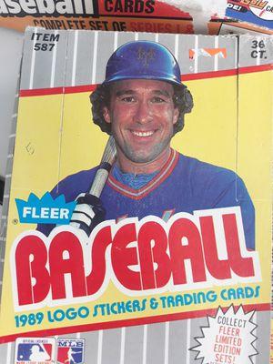 1989 Fleer Baseball Error Box for Sale in Renton, WA