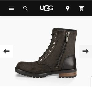 Ugg Black Leather Boots for Sale in Denver, CO