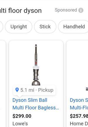 Dyson vacuum $150 for Sale in San Jose, CA