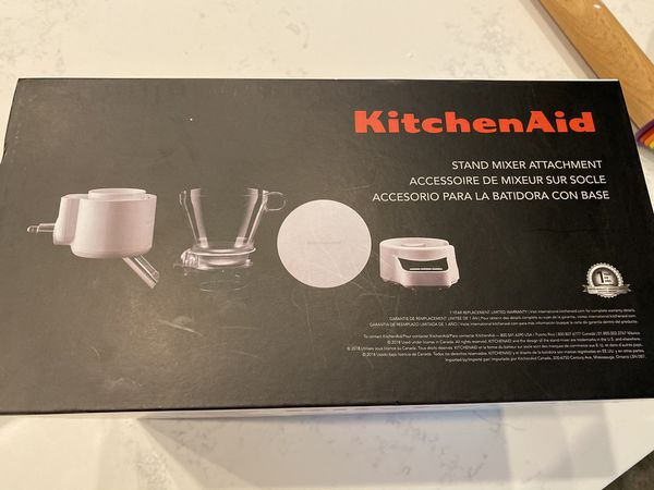 Kitchen Aid Sifter and Scale