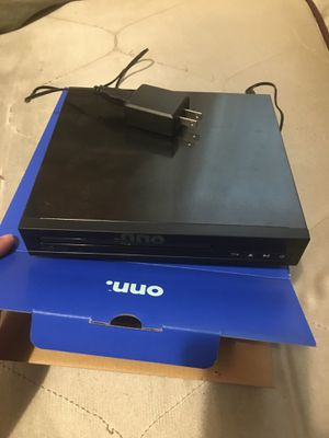 Onn DVD player for Sale in Norfolk, VA