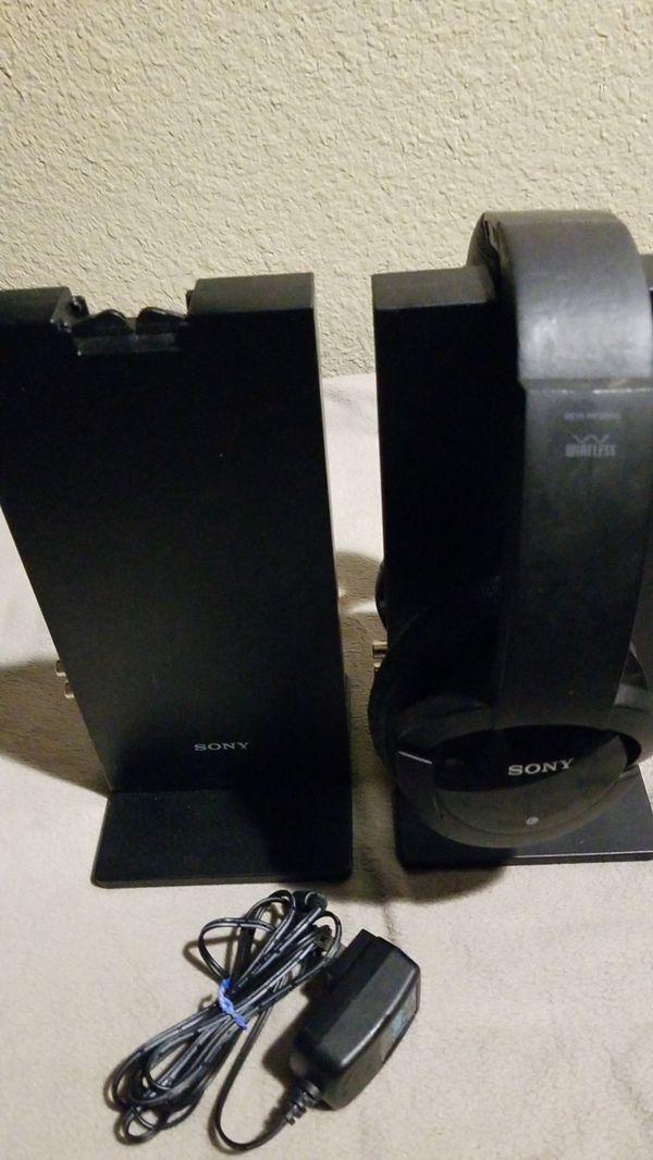 Sony Rf-985A wireless head phones