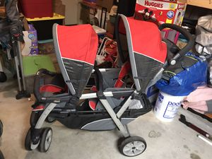 Chicco Double Stroller for Sale in San Antonio, TX
