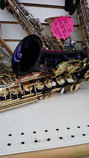 Celio purple saxophone for Sale in Austin, TX