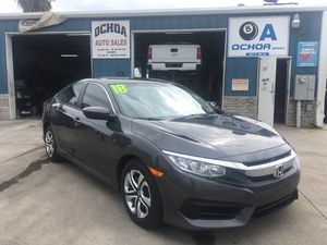 2018 HONDA CIVIC LX 10K for Sale in Hanford, CA