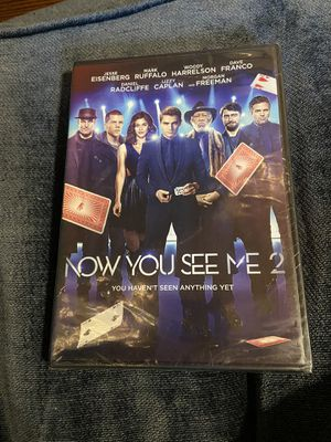 Now you see me 2 DVD new unopened for Sale in Murfreesboro, TN