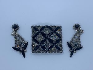 Juliana D&E Sticks and Stones Brooch and Earrings for Sale in Chicago, IL