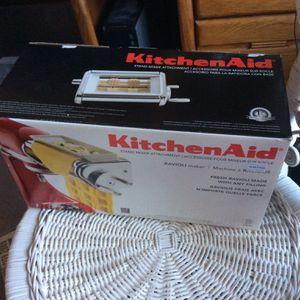 Kitchen Aid Mixer Ravioli Maker Attachment for Sale in Santa Rosa, CA