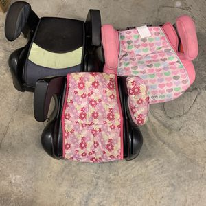 (3) Kids Car Boosters Seats for Sale in Seattle, WA