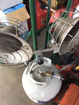 Dbl burner propane heater. Works great. High btu for Sale in Waterford Township, MI