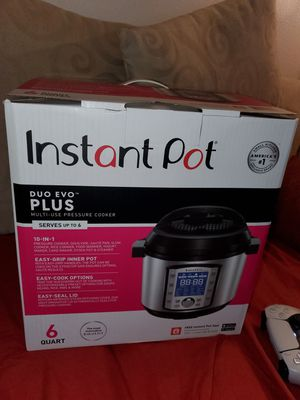 Need A Gift? INSTANT POT DUO EVO PLUS *NEW for Sale in Portland, OR