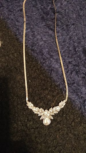 Silver Jewel Necklace for Sale in Denver, CO