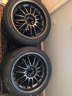 Konig Hypergrams 5 lug size rim 18 for Sale in Alexandria, VA