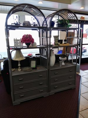 Large Wood Decorative Shelving Unit $69.99 each for Sale in Upland, CA
