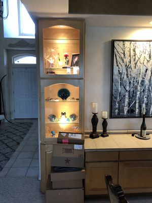 Kitchen and dining room cabinets for Sale in Littleton, CO