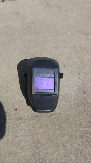 Welder's mask with auto darkening filter for Sale in Whittier, CA