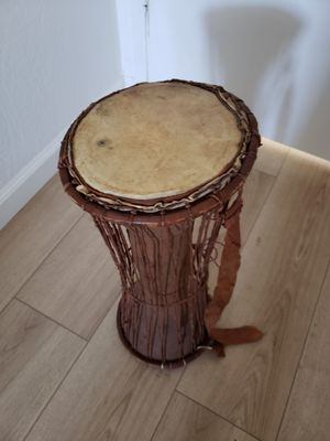 Antique djembe drum for Sale in Campbell, CA