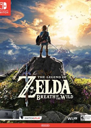 The Legend of Zelda Breath of the Wild (Nintendo Switch) - Game Only for Sale in Sacramento, CA