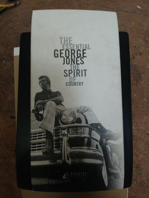 The. Essential George jones the spirit of country for Sale in Arlington, TX
