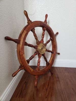 Ships Wheel purchased for $350 for Sale in North Highlands, CA