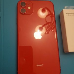 iPhone 11 Red for Sale in Los Angeles, CA