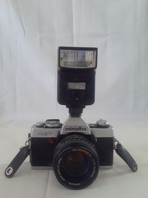 Minolta XG7 Camera w/ Rokkor-X 50mm Lens untested as is Made in Japan for Sale in Joshua, TX