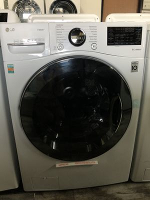 LG High Efficiency Ultra Large Smart Front Load Washer TurboWash360 Only $50 down take it home today for Sale in Las Vegas, NV