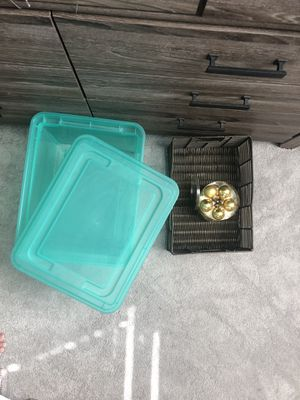 Storage Container and Basket for Sale in Fort Lauderdale, FL