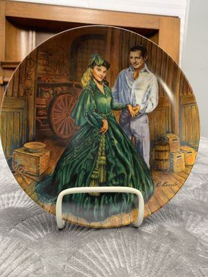 Gone With the Wind Collector's Plate for Sale in Ontario, CA