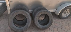 4 brand new tires with new full-size spare for Sale in Manitou Springs, CO