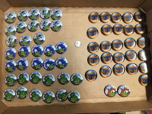 Disney Store Hulk and Tomorrowland Pin Buttons for Sale in Lansdale, PA