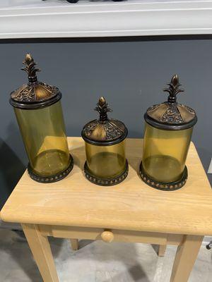 Tres jarrones de adorno for Sale in Chicago, IL
