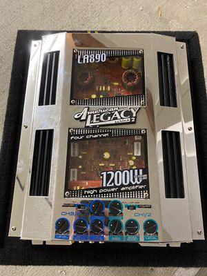 1200 watt 4 channel car audio amplifier for Sale in Carlsbad, CA