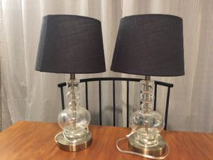 Two Brand New Side\Desk/Table Lamps for Sale in Oakland, CA