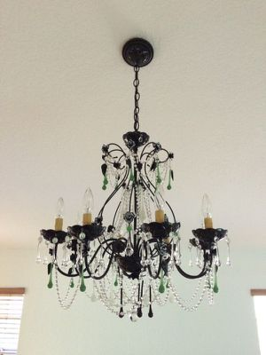 8 Light Schonbek Swarovski Crystal Chandelier for Sale in Pembroke Pines, FL