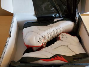 Fire Red Air Jordan 5 retro size 11 for Sale in Columbus, OH