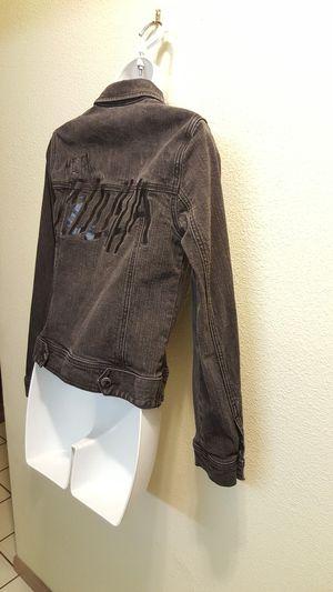 *LIKE NEW* Women's SM Metal Mulisha Black Denim Jacket for Sale in Las Vegas, NV
