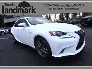 2014 Lexus IS 350 for Sale in Tigard, OR