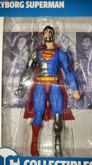 DC Multiverse Batman Justice League Cyborg Superman for Sale in Chicago, IL