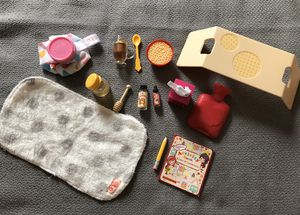 """Our Generation Sick At Home Doctor Accessories 18"""" Doll for Sale in Inwood, WV"""